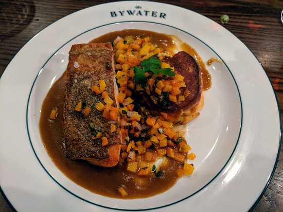 ByWater Restaurant: Striped Bass Dinner