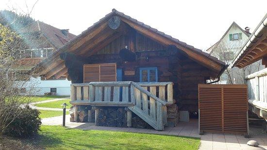 Hotel Lamm Ellbachstr. 4 72270 Baiersbronn-Mitteltal: Kräutersauna Blockhaus
