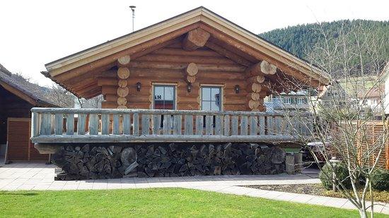 Hotel Lamm Ellbachstr. 4 72270 Baiersbronn-Mitteltal: Sauna Blockhaus