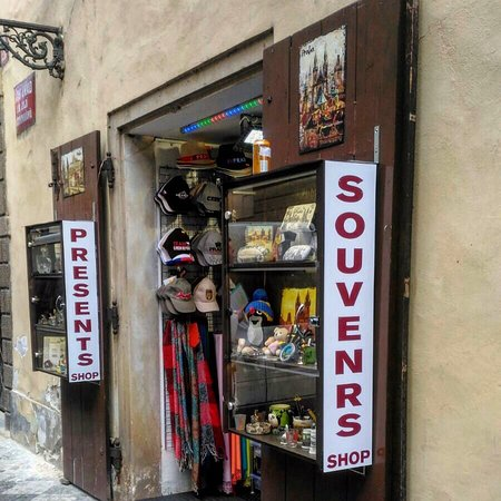 Souvenir and gift shop