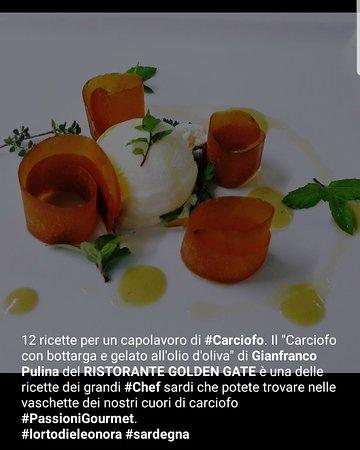 Bortigiadas, Italie : Ristorante GOLDEN GATE