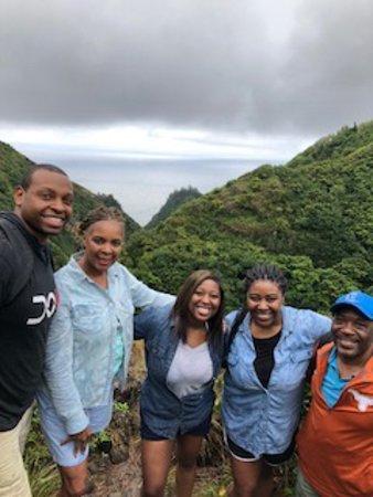 Makawao, Hawaï: Family Photo on West Maui Hike