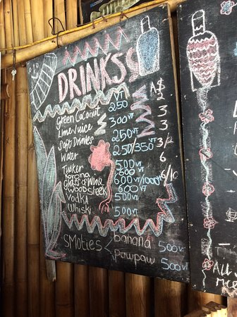 Chez Louis drinks