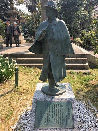Oda Sakunosuke Statue