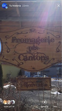 Farnham, Canada: Fromagerie