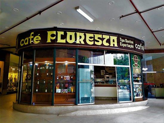 Cafe Floresta: The facade