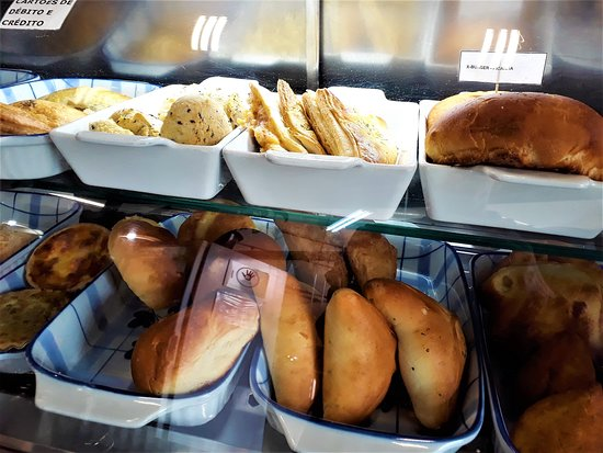 Cafe Floresta: The salty pastries