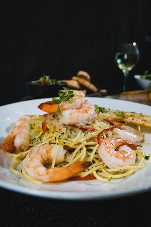 Benowa, Australia: Spaghetti all'aglio Gambaro