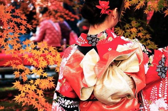 TripleLights: Dress a Kimono in Kyoto