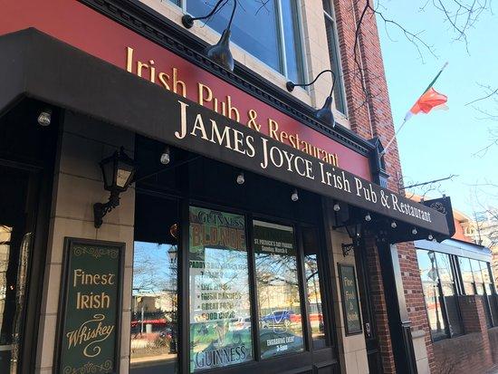 James Joyce Irish Pub Restaurant Baltimore Little Italy