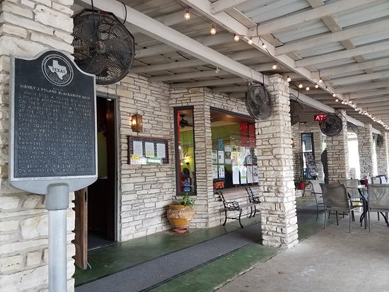 Wimberley, Teksas: Entrance to resturant