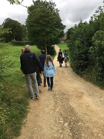 Secret Cottage: Other foot /hoofed travelers in the Cotswolds
