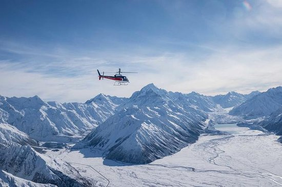 Mount Cook Mountains High Helicopter...