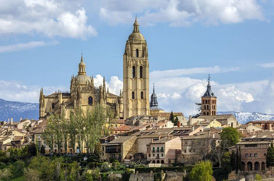 Day Trip to Avila and Segovia from...