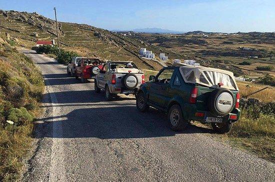 Jeep Safari à Mykonos