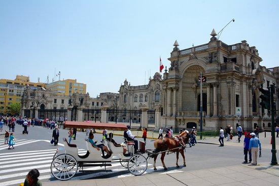 Presidential Palace (Palacio de Gobierno): Horse & coach