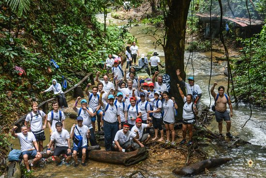 Lubok Antu, Malaysia: Outdoor Teambuilding Activities is another popular attraction at the resort.