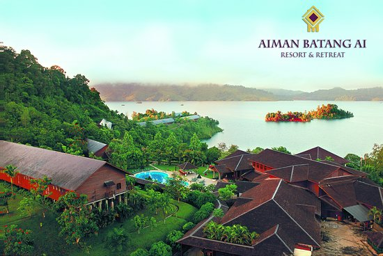 Lubok Antu, Malaysia: An overview of the resort.