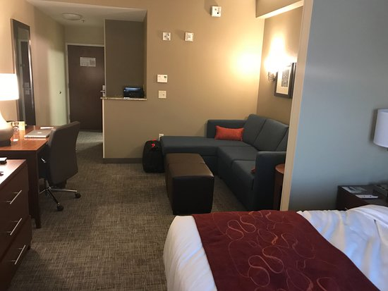 Comfort Suites DFW N/Grapevine: My room