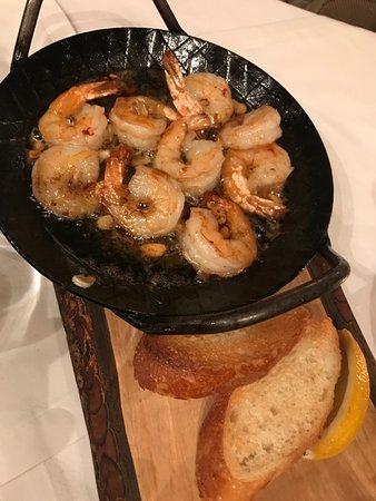 Zielnik: tasty shrimp stater