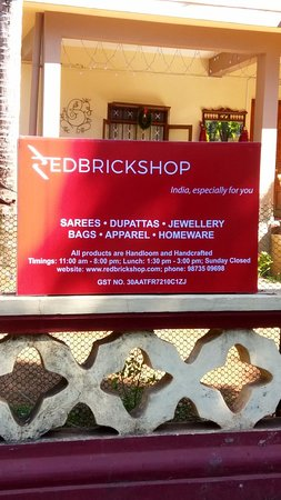 Red Brick Shop