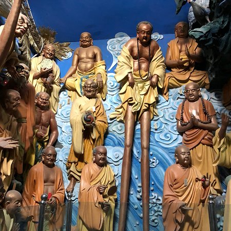 Zhongning County, China: There is a room with more than 100 of these amazing statues