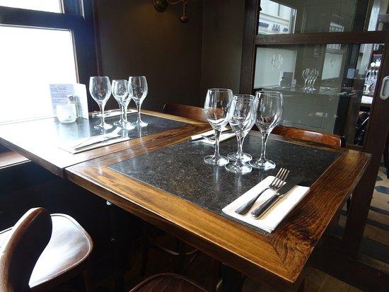 Le relais St-Job: notre table habituelle