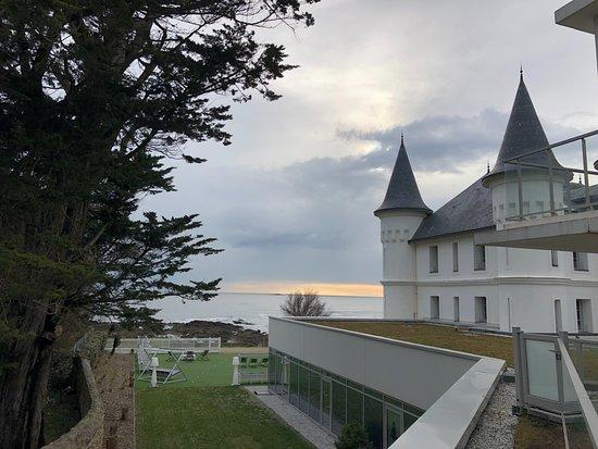 Hôtel Château des Tourelles : From our room