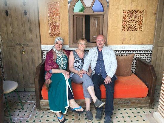 Notre Hote Latifa Picture Of Riad Fleur D Orient Marrakech