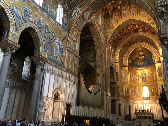 Duomo di Monreale : Mosaics