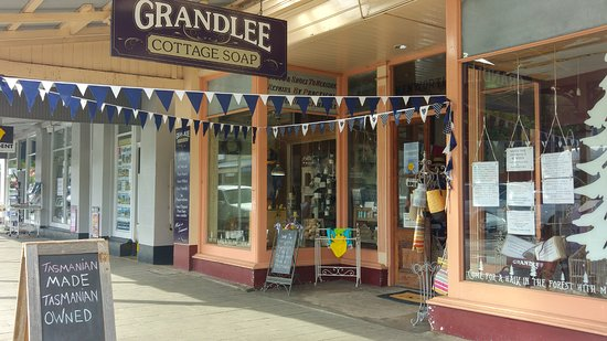 Shop Front of Grandlee Cottage Soap in Latrobe