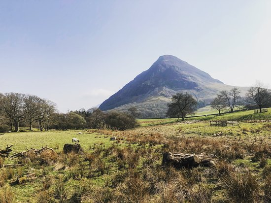 Loweswater, UK: View from the garden