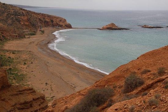 Oriental Region, Maroko: La plage de Tmadet - Sidi El Bachir, au Maroc Oriental