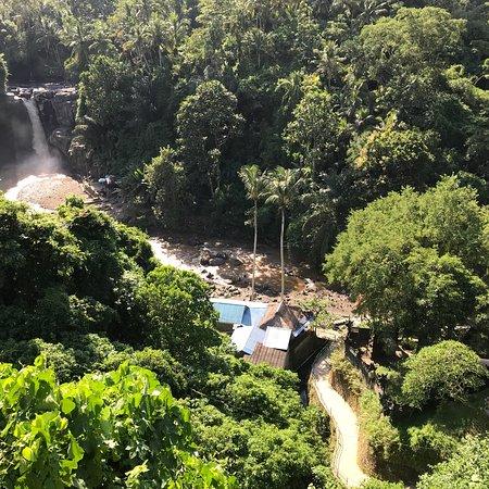 Nice waterfall but too touristy