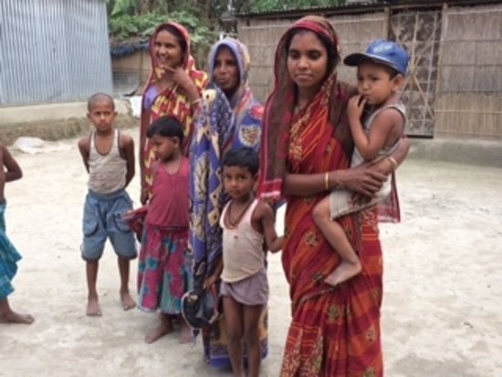 Brahmaputra River: local villagers