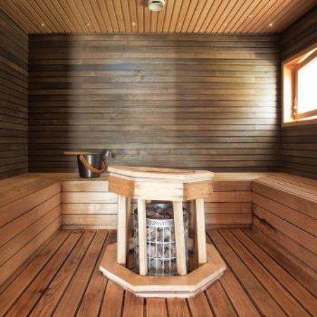 Uusikaarlepyy, Finland: Sauna, house 5.
