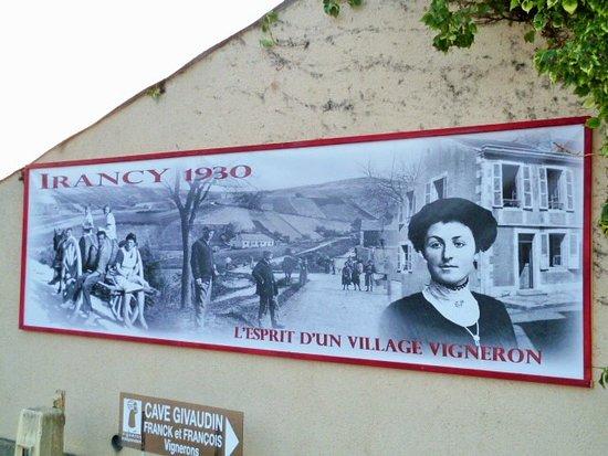 Burgundy, France: La St Vincent à Irancy