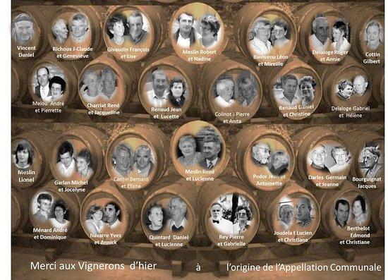 Borgoña, Francia: Les vignerons d'hier pour la St Vincent d'Irancy