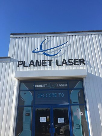 Bury St. Edmunds, UK: Planet Laser - Lilac Works, Western Way, Bury Saint Edmunds IP33 3SP