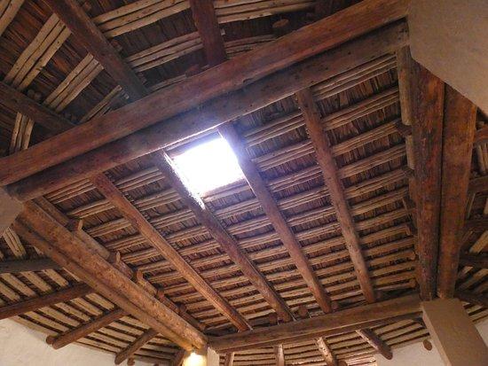Aztec, Nowy Meksyk: khiva ceiling