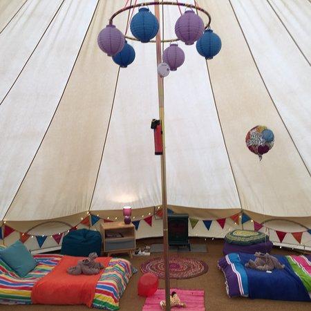 Aylesford, UK: Kits Coty Glamping