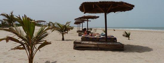 Sanyang, Gambia: Sunbeds