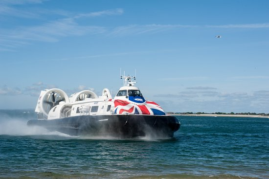Ryde, UK : Our hovercraft
