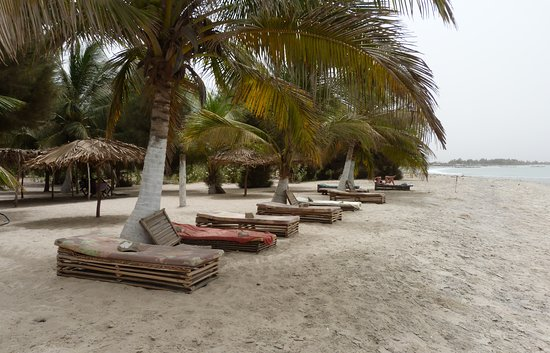 Sanyang, Gambia: We now have more sunbeds