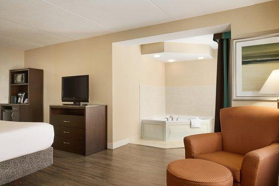 Hilton Garden Inn Toronto/Vaughan: 1 King Bed Whirlpool Suite