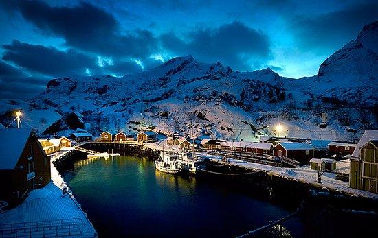 Nussfjord ภาพถ่าย