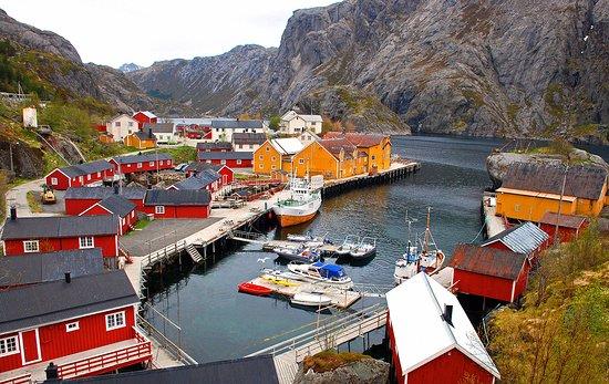 Bilde fra Nussfjord