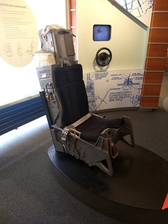 An Ejection Seat in the Parachute Museum