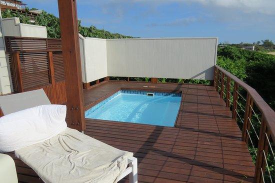 Zitundo, موزمبيق: Ocean view mit Pool