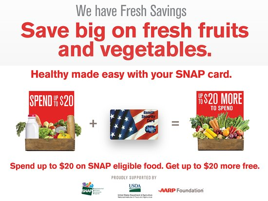 Greeneville, TN: We accept SNAP and provide FRESH SAVINGS at this MARKET ONLY.